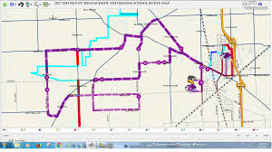 Bus Route Map Transportation Bus Route Information