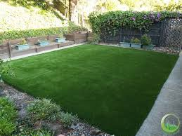 Synthetic Grass Backyard Front Yard And Backyard In San Francisco California Synthetic