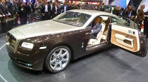 roll royce wood rolls royce wraith first presentation youtube