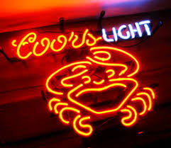 coors light bar sign shop coors neon signs uk coors neon signs free delivery to uk