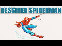 comment dessiner spiderman dessin débutant youtube