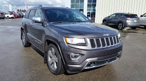 grey jeep grand cherokee 2015 used 2015 jeep grand cherokee overland 4x4 accident free