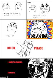 Rage Meme Comics - ragegenerator rage comic swimming meme