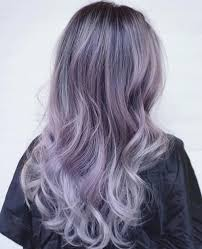 how to blend in gray hair with brown hair the prettiest pastel purple hair ideas