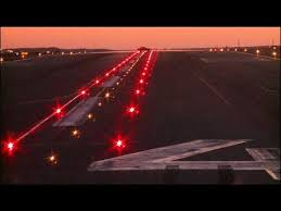 model airport runway lights faa runway status lights video youtube