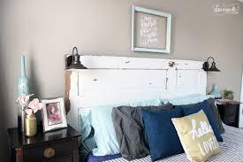 bedroom appealing diy barn door headboard image of on design