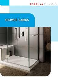shower cabins usluga glass pdf catalogues documentation