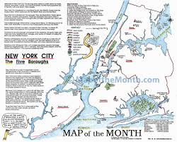 Us New York Map by New York City Ny Map Maps For The Classroom