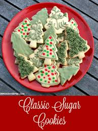 deck the halls with hallmark ornaments then bake cookies