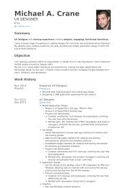 Design Resume Sample by Ux Designer Resume Samples Visualcv Resume Samples Database