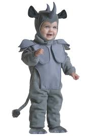 Childrens Animal Halloween Costumes by Toddler Rhino Costume