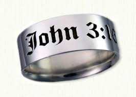 bible verse rings religious designed custom wedding rings create your own