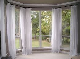 Curtains For Bay Window Windows Curtains Bay Window With Sheers And Curtains Panels For