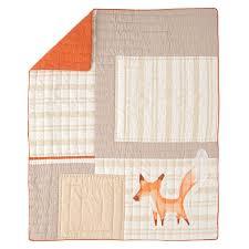 fox crib sheet the land of nod