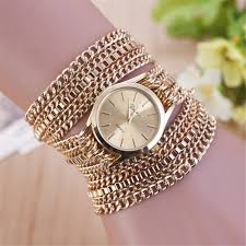 watches with chain bracelet images Luxurious band quartz watch women party luxury dress watch fashion jpg