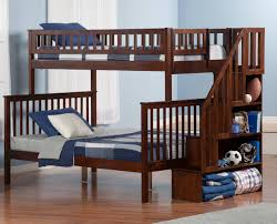 amazing bunk beds twin over full with stairs u2014 modern storage twin