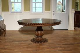 Tropical Dining Room Furniture by Tropical 66 Inch Round Oak Dining Table Havelock Table