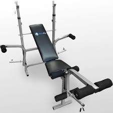 Collapsible Weight Bench Bodyrip Folding Weight Bench U0026 80kg Barbell Set Chest Press Leg