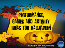performance games and activity ideas for halloween