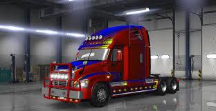 freightliner cascadia warning lights freightliner cascadia v2 1 3 truck edited by solaris36 ats mod