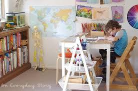 a tour inside our reggio inspired homeschool room