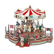 christmas carousel mr christmas around the carousel home kitchen