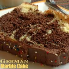german marble cake recipe and history whats cooking america