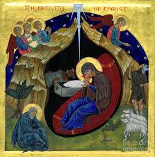 icon of the nativity painting by juliet venter