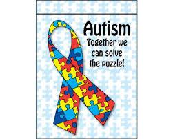 autism solve the puzzle garden flag garden flags