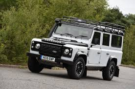 land rover defender 2015 black land rover defender 110 adventure uk london evening standard