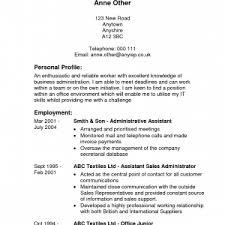 Reverse Chronological Resume Template Word Cover Letter Chronological Order Resume Template Reverse