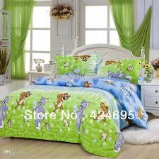 Full Size Bed Sheet Sets Wholesale Tom And Jerry Pattern Bedding Sets Luxury Include Duvet