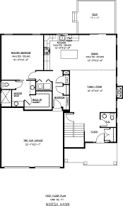 First Floor Master Bedroom Floor Plans by Marsh Hawk Hawks Ridge