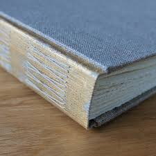 Linen Photo Album Photo Albums With Distressed Metallic Spines U2014 Paperiaarre