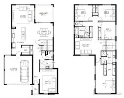 2 story house blueprints modern house plans most 53 fabulous gorgeous plan features 4