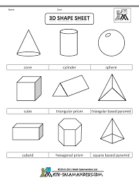 shape worksheets both labeled and not labeled gonna teach you