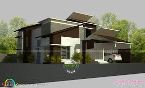 2800 square foot house plans 5 bedroom contemporary home 2800 sq ft kerala home design