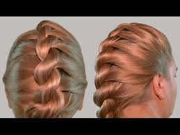 images of braids with french roll hairstyle french twist into rope braid back to school hairstyles video
