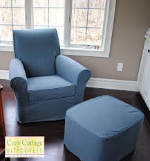 ottoman simple oversized chair slipcover recliner sure fit