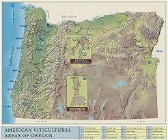 Southern Oregon Map by Oregon Viticultural Areas Oregon Wine Fanoregon Wine Fan