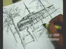 speed sketching in 15 minutes using pen u0026 ink an architectural