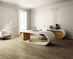 Curved Office Desk Furniture Inspiring Luxury Astounding Curved Office Desk Futuristic Home Of
