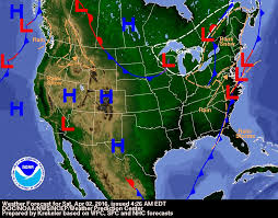 daily weather forecast and severe weather outlook for saturday