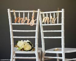 wedding chair signs printable mr and mrs wedding chair signs
