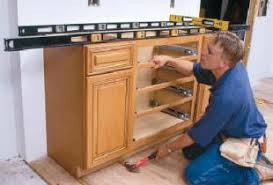 how to attach kitchen base cabinets installation tips cabinet joint
