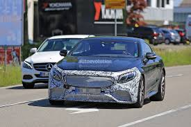 2018 mercedes amg s63 coupe facelift caught testing for the first
