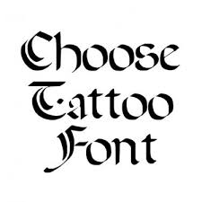 old english tattoo font generator for free