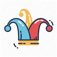 jester mardi gras celebration festival hat jester mardi gras party icon