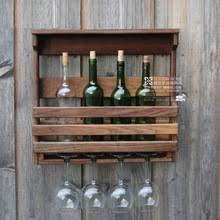 popular wooden wall wine rack buy cheap wooden wall wine rack lots