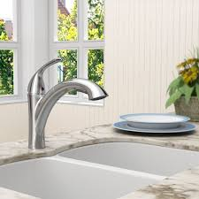 standard pull out kitchen faucet standard 4433 100 075 quince pull out kitchen faucet